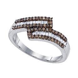 925 Sterling Silver White 0.48CT DIAMOND FASHION RING