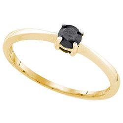 10K Yellow-gold 0.25CT DIAMOND FASHION RING