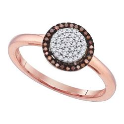 10K Yellow-Gold 0.15CTW DIAMOND MICRO-PAVE RING