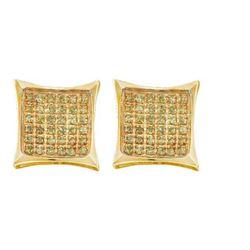 10KT Yellow Gold 0.10CTW ROUND DIAMOND LADIES MICRO PAV