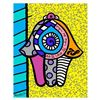 Image 1 : Hamsa Yellow Down by Britto, Romero