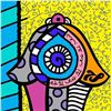 Image 2 : Hamsa Yellow Down by Britto, Romero