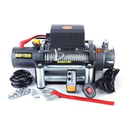 HEAVY DUTY 12,000 LB WINCH W/ WIRELESS REMOTE
