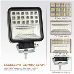 (10) 4  LED LIGHT BARS