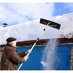 TWIST N LOCK SNOW SHOVEL ROOF RAKE