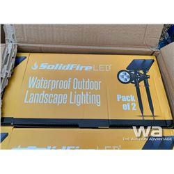 (24) LED OUTDOOR LANDSCAPE LIGHTS