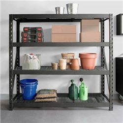 """4 LAYER 72"""" X 72"""" X 24"""" INDUSTRIAL RACKING"""