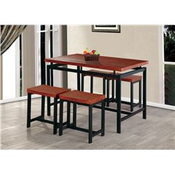 (5) PIECE COUNTER HEIGHT TABLE SET