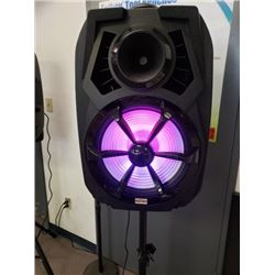 400W DISCO LIGHT SPEAKER