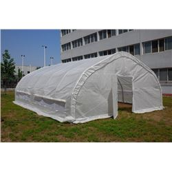 20 X 30 FT. HEAVY GAUGE TUNNEL GREEN HOUSE
