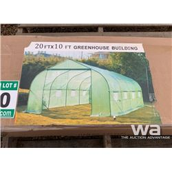 10 X 20 FT. GREEN HOUSE BUILDING