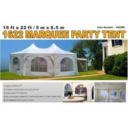 16 X 22 FT. MARQUEE EVENT TENT