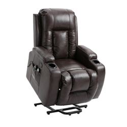 BLACK RECLINER MASSAGE CHAIR