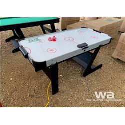 AIR HOCKEY FOLDING TABLE & GAMES