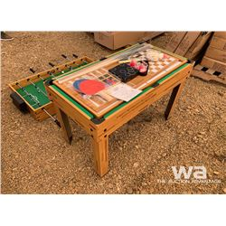 10 IN 1 GAME TABLE