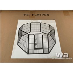 (8) PANEL DOG RUN PLAY PEN FENCE