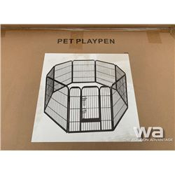 (8) PANEL DOG RUN PLAY PEN FENCE