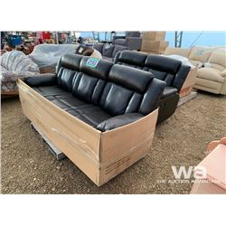 (3) PIECE RECLINING SOFA, LOVESEAT & CHAIR
