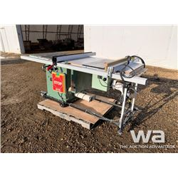 GENERAL 350R CABINET SAW, ROUTER COMBO
