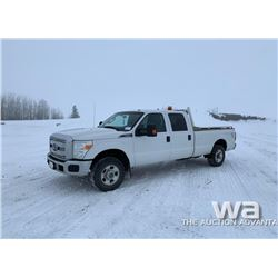 2011 FORD F250 CREW CAB PICKUP