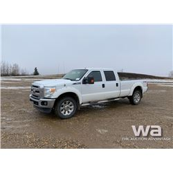 2011 FORD F-350 CREW CAB PICKUP