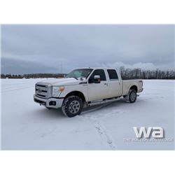 2012 FORD F350 CREW CAB PICKUP