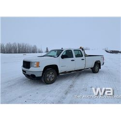 2011 GMC 2500HD CREW CAB PICKUP