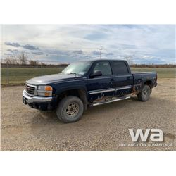 2006 GMC 2500 HD CREW CAB PICKUP