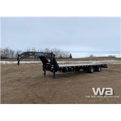 2017 LOAD TRAIL 5TH WHEEL TANDEM FLATDECK TRAILER