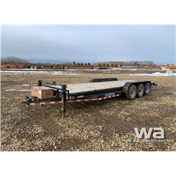 2015 LOAD TRAIL CC8024 TRIDEM CAR HAUL TRAILER