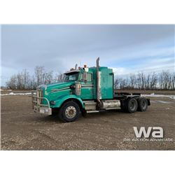 1997 KENWORTH T800 T/A SLEEPER TRUCK