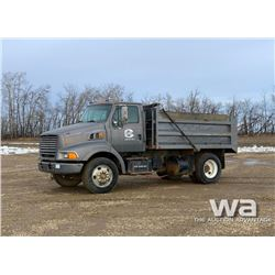 1998 FORD S/A DUMP TRUCK