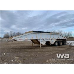 1988 DECAP CROSS DUMP TRIDEM GRAVEL TRAILER