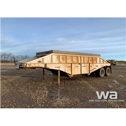 1975 ARNES CROSS DUMP T/A GRAVEL TRAILER