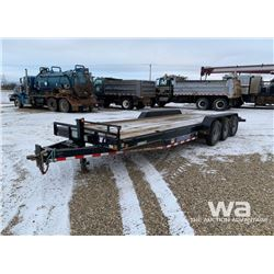 2014 LOAD TRAIL TRIDEM CAR HAUL TRAILER