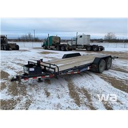 2014 LOAD TRAIL TANDEM CAR HAUL TRAILER