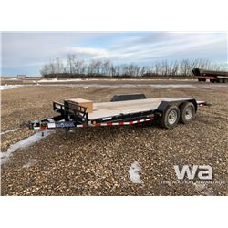 2015 LOAD TRAIL CH8318 TANDEM CAR HAUL TRAILER