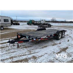 2013 RAINBOW 18 FT TANDEM CAR HAUL TRAILER