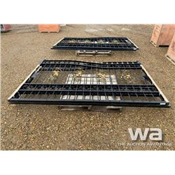 20 FT. HD BI-PARTING WROUGHT IRON DRIVEWAY GATE