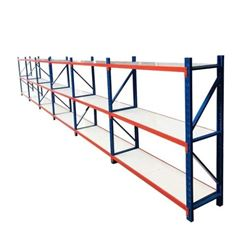 HEAVY DUTY WAREHOUSE STEEL SHELVING