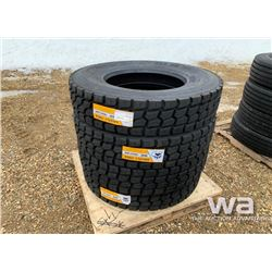 (4) GRIZZLY 11R24.5 TRUCK DRIVE TIRES