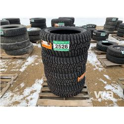 (4) GRIZZLY 33X12.5R20 TIRES
