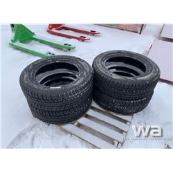 (4) VALLEYSTONE VW77 P235/65R17 WINTER TIRES