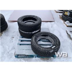 (3) VALLEYSTONE VW77 P235/65R17 WINTER TIRES