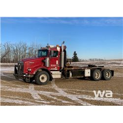 2001 KENWORTH T800B WINCH TRACTOR