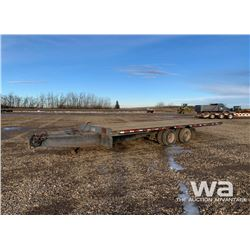 1994 TRAIL KING TILT DECK T/A EQUIPMENT TRAILER