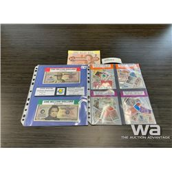 BILLS & STAMPS COLLECTION