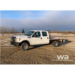 2012 FORD F-350 SUPER DUTY FLATBED PICK-UP