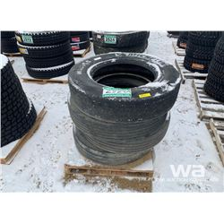 (4) MICHELIN 11R24.5 TRUCK TIRES