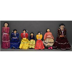 NAVAJO INDIAN CLOTH DOLLS
